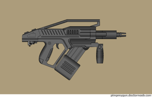 Uhl combat nailgun by Robbe25
