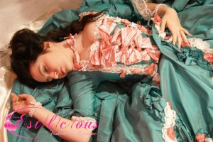 the sleeping Madame pompadour by estilicious