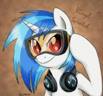 Vinyl Scratch by Eeveetachi