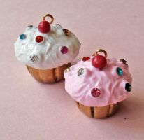 Royal Cupcake Necklace NEW by FatallyFeminine