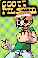 Scott pilgrim pixel art by HecktickXx