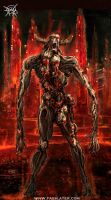 Zombie Demon 2 by FASSLAYER
