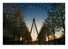 London Eye by djoel
