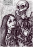 We can live like Jack x Sally by Lily-pily