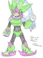 Comet Woman for MegaPhilX by DunamisSolgard1002