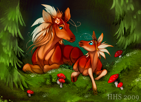 Mother Nature by VixieArts