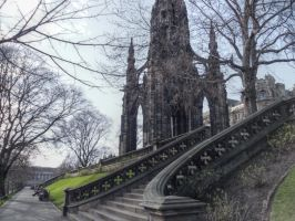 Scott's monument by videoai