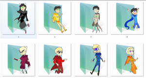 Homestuck Godtier Folder Icons by Ginokami6