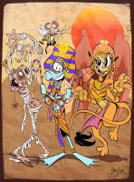 SWEFS Egyptian Monsters by Themrock