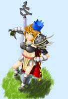 Bandos girl CG by cleanminded