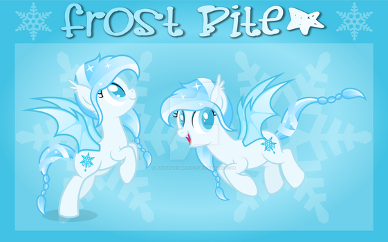 Ref. Sheet: Frost Bite by MyPaintedMelody