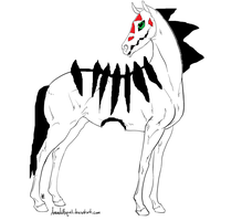 Kulti The Hollow Horse by zansuro