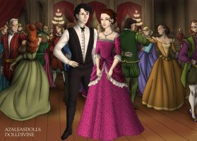 Fred and His wife by LadyIlona1984