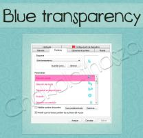 Cursor blue transparency by Chokolathosza