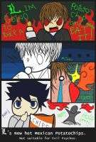 Death Note-Potato Chips by SharpenArrow