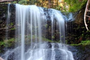 silver falls state park, upper north falls 2 by ringmale