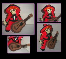 Mariachi Muerto Poncho by axelgnt