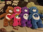 Build a bear carebears  by angelicoreXX