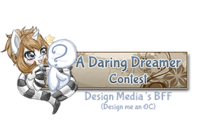 Design Me An OC Contest Banner by Dare2DreamMedia