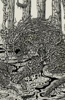 The Swamp Thing by Dinuguan