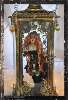 Steampunk Victorian doll Ball jointed ooak by SutherlandArt