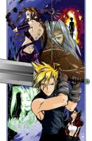 Final Fantasy VII-2 by dronio