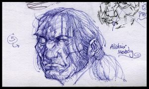 Sketchbook - Alistair Moody by nicholaskole