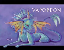 Vaporeon by shriker