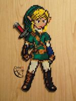 Link Trainer Perler Beads by Cimenord