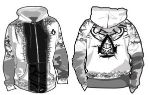 My assassin hoodie design by Asoq