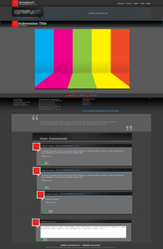 Art Site Submission Page by chalkley3