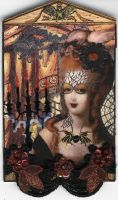 Gothic Marie Antoinette by ArtfullyMusing