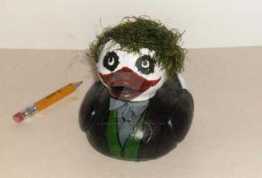 The Joker Duck - Dark Knight by BlueSaltwaterTaffy