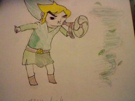 Toon Link by XxEAltairRoxsAxX