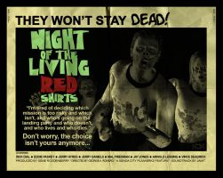 Night of the Living Red Shirts by AbaKon