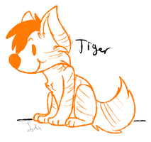 Tiger by Letipup