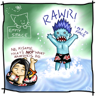 RAWR by Kisame ft. Itachi by kittychasesquirrels