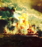 Dragon Attack by JChoudhry