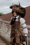 Steampunk: Petit Roi des Pirates by ShadewithoutSun