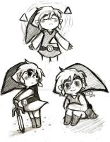 Toon Link sketches by Celebi9