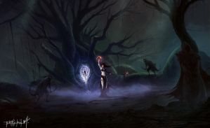 CONCEPT ART WORK: TAPROOT by thatnickid