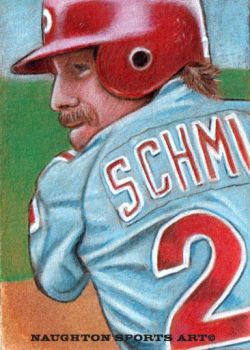 2.5 x 3.5 Mike Schmidt Sketch Card Concept by Brent-Naughton-17