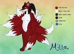 Milla ref - KK commission by SilverShadowfax
