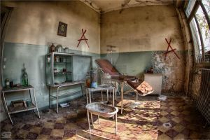 doctors room by FatmeBondage