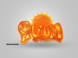lion logo v.2 by mnoso90