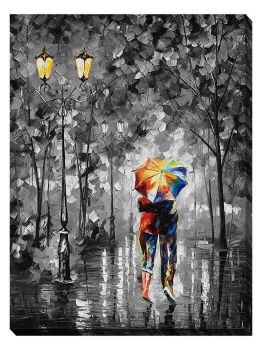 UNDER ONE UMBRELLA  Decorative interior print by Leonidafremov