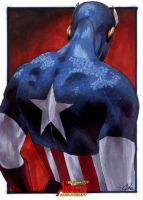 Avengers:Captain America III by gattadonna