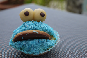 Cookie Monster by AlopexXx