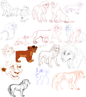 Sketch Dump 2013 by Tamnyan