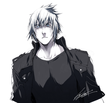 Scribble: Noctis by kugelcruor